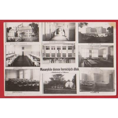 Masarykův domov hornických dítek v Klokočově u Vítkova