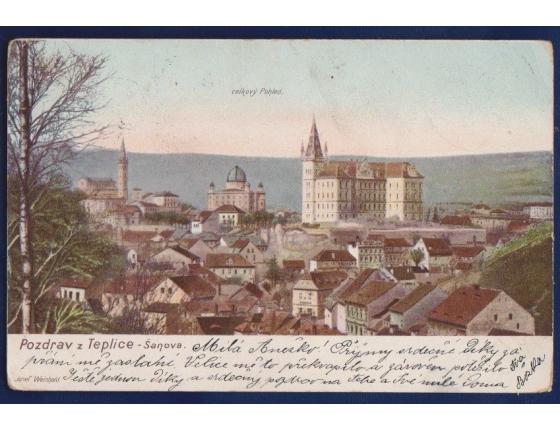 Pohlednice: Pozdrav z Teplice - Šanova
