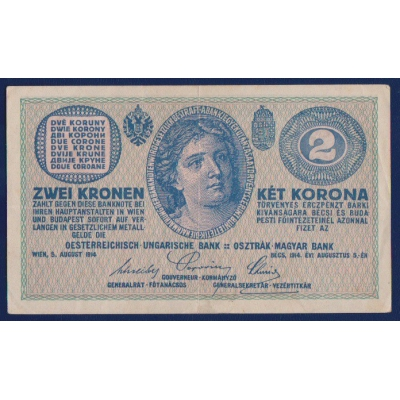 2 koruny 1914