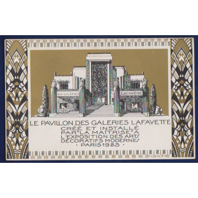 International Exposition of Modern Industrial and Decorative Arts - Paris 1925