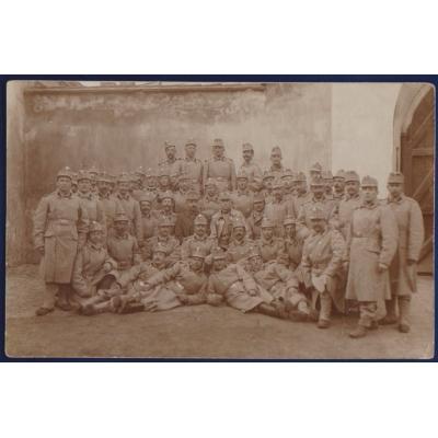 Pohlednice: 1. světová válka: Čeští vojáci ve válce 1914