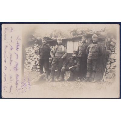 Postkarten: 1. Weltkrieg: Die tschechischen Soldaten im Krieg von 1916