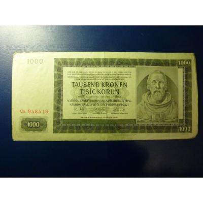 1000 Kronen 1942 Ca