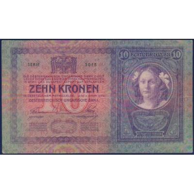 Rakousko Uhersko - bankovka 10 korun 1904