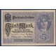 Germany - banknote 5 Mark 1917 UNC
