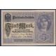 Německo - bankovka 5 Marek 1917 UNC