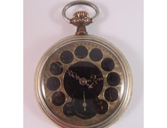 REMONTOIR - starožitné kapesní hodinky, funkční