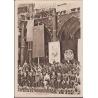 Československo - pohlednice Projev vlády na Staroměstském náměstí 1945