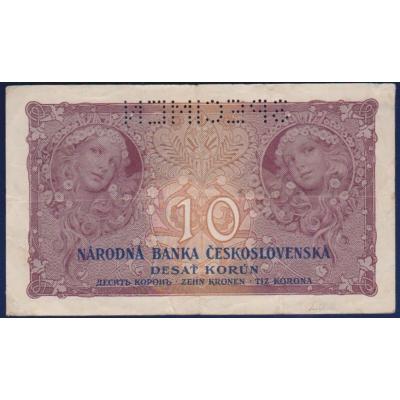 Tschechoslowakei - 10 Kronen 1927