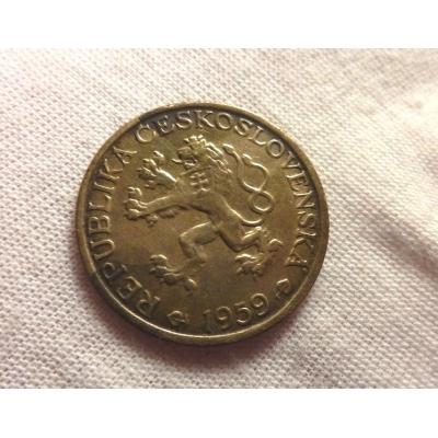 Československo - mince 1 koruna 1959