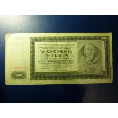 1000 Kronen 1942 Cb