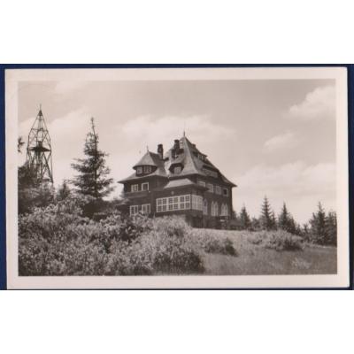 Protektorat Böhmen und Mähren - Postkarte Cottage BESKYD