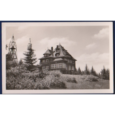 Protektorát Čechy a Morava - pohlednice Chata na Beskydě