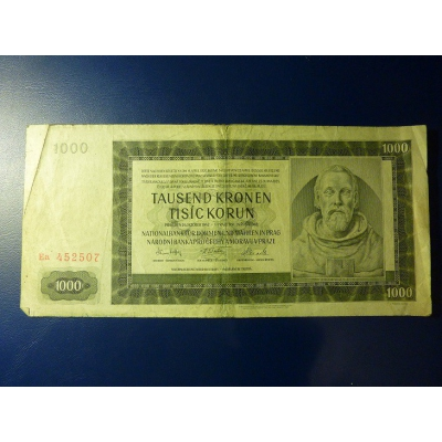 1000 korun 1942 Ea