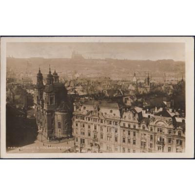 Prag 1928 - Ein Blick auf die Teynkirche