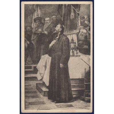 Tschechoslowakei - Postkarte Jan Hus 1923