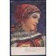 Československo - pohlednice C.V.Mutich: Děvče z okolí Kyjova 1917
