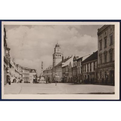 Československo - pohlednice Třeboň náměstí