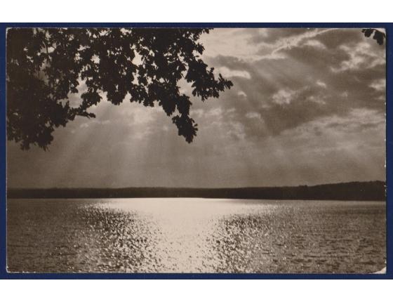 Československo - pohlednice Rožmberský rybník