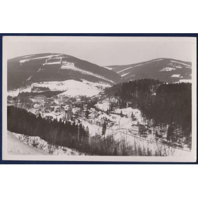 Tschechoslowakei - Postkarte Krkonose, Janske Spa