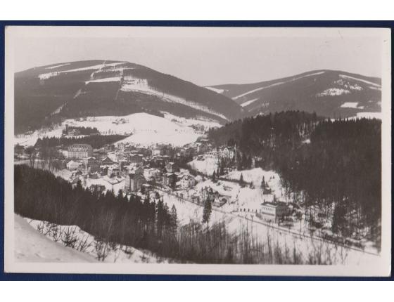 Československo - pohlednice Krkonoše, Janské Lázně
