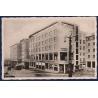 SLOVENSKÝ ŠTÁT - pohlednice Bratislava, Ludové divadlo 1928, razítko říšská orlice 1942