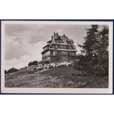 Böhmen und Mähren - Radegast Hotel in Radhošt 1943 der Mieter A. Kucera