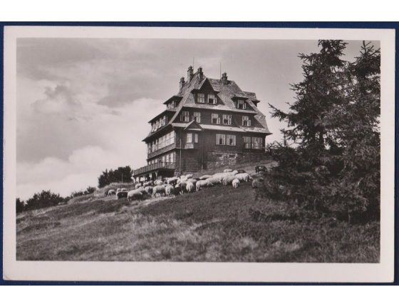 ČECHY a MORAVA - Hotel Radhošť 1943, nájemce A. Kučera