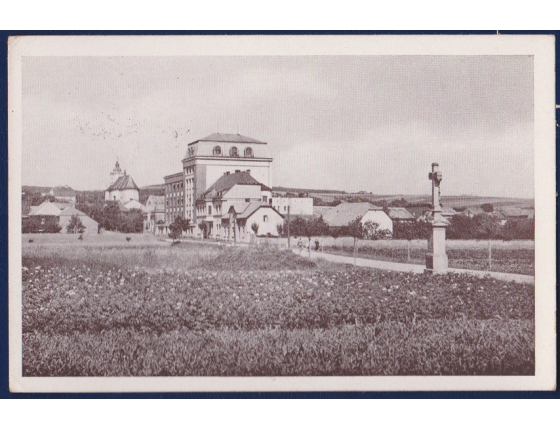 Československo - pohlednice Slatinice u Olomouce