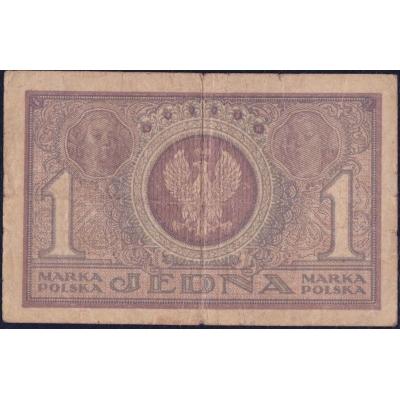 Polen - 1 Marke Banknote 1919