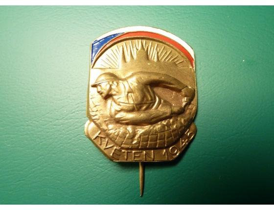 Československo - odznak Pražské povstání 1945