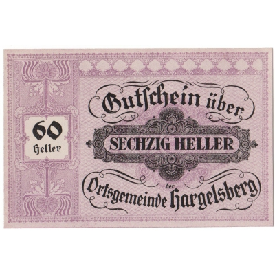 Rakousko - Gutschein 50 haléřů 1920 UNC