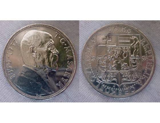 Československo - 20 korun 1937, úmrtí T.G. Masaryka