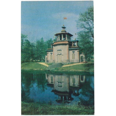 Russia - a collection of historical topographical postcards (5 pieces)