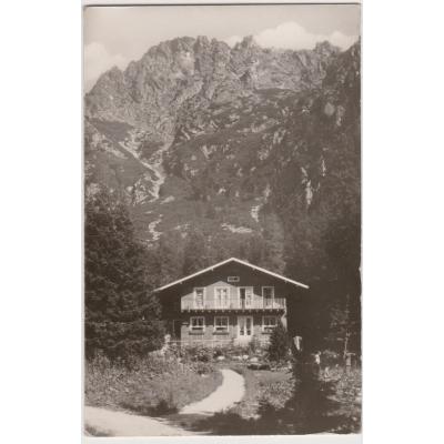 Československo - Vysoké Tatry, Zamkovského chata 1952