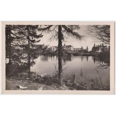 Československo - pohlednice Vysoké Tatry, Štrbské pleso