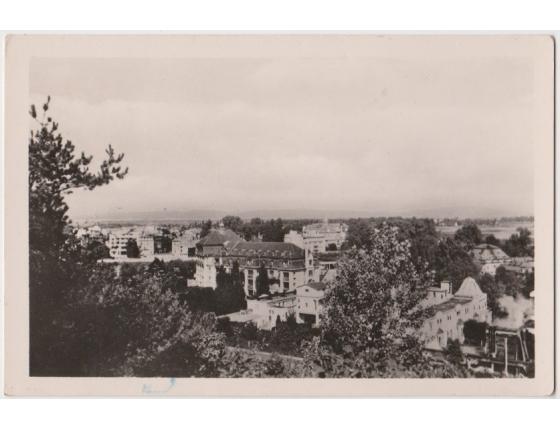 Czechoslovakia - postcard Piestany Spa Island