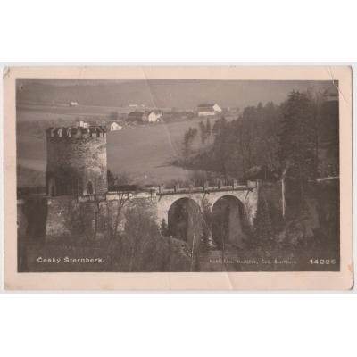 Československo - pohlednice Český Šternberk