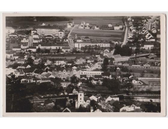 Československo - pohlednice Blansko 1947