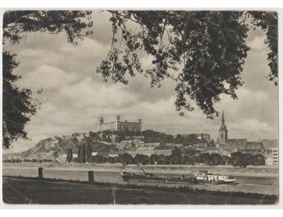 Československo - pohlednice Bratislava