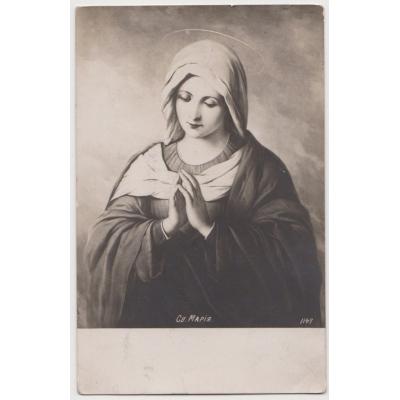 Russland - Postkarten Jungfrau Maria im Jahre 1906