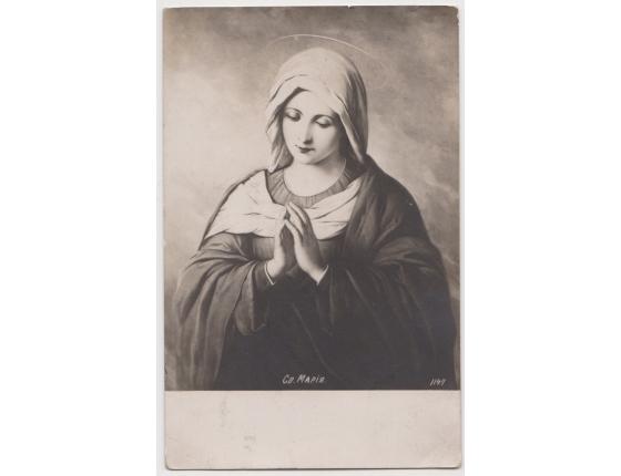 Rusko - pohlednice Panna Marie 1906