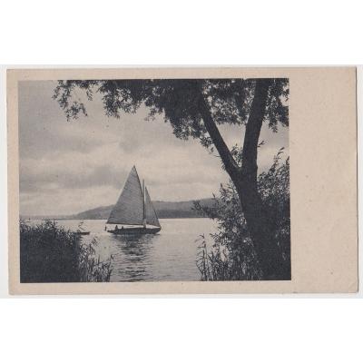 SUDETY - pohlednice Meclov 1943