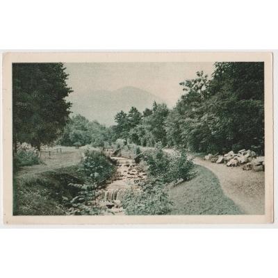 ČECHY a MORAVA - pohlednice Horní Počáply u Roudnice 1944