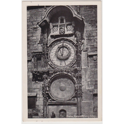 ČECHY a MORAVA - Praha, Staroměstský orloj 1943
