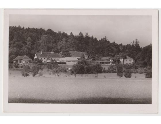 Československo - pohlednice Lázně Sedmihorky