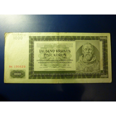 1000 Kronen 1942 Ha