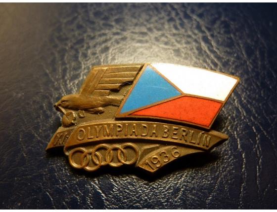 Německo - Olympiáda 1936 Účastnický odznak