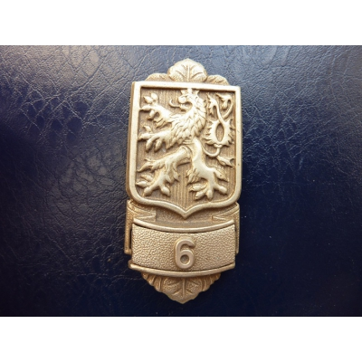 Československo - Ramenní odznak hasiče, Hasičská župa č. 6