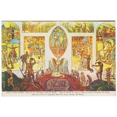 Soubor pohlednic UNITED NATIONS, New York (3 ks)